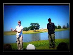 Randall Baptized